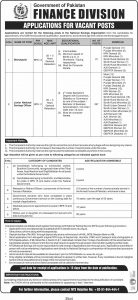 Central Directorate Of National Savings Islamabad NTS Jobs 2020 Apply Online