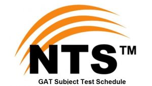 Graduate Assessment Test GAT Subject NTS Schedule 2020 Test Dates Last Date