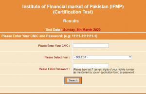 IFMP Jobs 2020 NTS Test Result Check Online